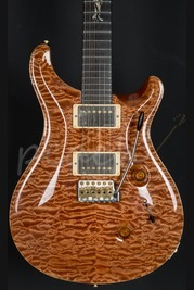 PRS Custom 24 Wood Library Terracota Quilt with Rosewood Neck Used