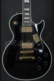 Gibson Les Paul Custom Ebony with Gold hardware