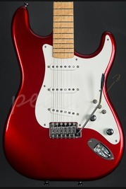 "Schecter USA Custom Shop ""Sultan"" Model Candy Apple Red"