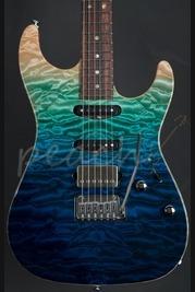 Suhr Standard Custom Aqua Blue Gradient #29091