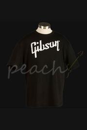 Gibson Logo T-shirt in Black