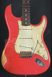 Fender Custom Shop John Cruz Masterbuilt 61 Strat Relic Fiesta Red