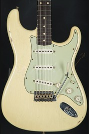 Fender Custom Shop Tone Machine 62 Relic Strat Aged Vintage White