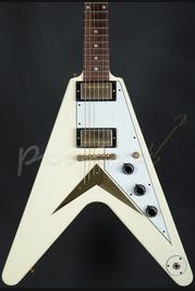 Gibson Custom 1959 Flying V VOS Telluride White 1 of 25 Worldwide Used