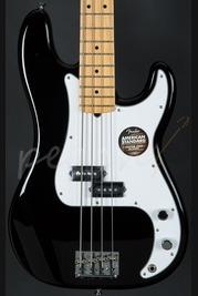 Fender American Standard Precision Bass Maple Neck Black
