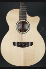 Faith Venus Trembesi 12 String Electro Acoustic with Cutaway