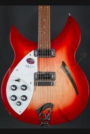 Rickenbacker 330 Left Handed Fireglo