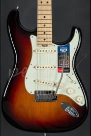 Fender American Elite Strat MN - 3 Tone Sunburst