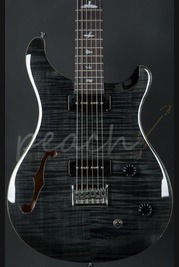 PRS SE 277 Semi Hollow Soapbar Grey Black Baritone