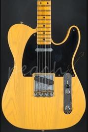 Fender Custom Shop 52 Tele Journeyman Relic Butterscotch Blonde