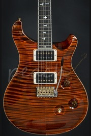 PRS Wood Library Custom 24 Fat Back Orange Tiger