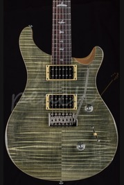 PRS SE Custom 24 Trampas Green 2016 Satin Neck