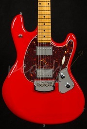 Music Man Stingray Guitar Chili Red Maple Neck