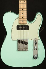 Fender Custom Shop 59 Esquire P90 neck - Faded Surf Green Closet Classic