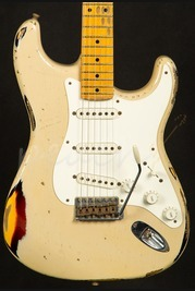 Fender Custom Shop 56 Strat Heavy Relic Desert Sand over 3TSB