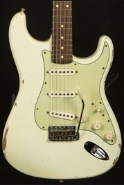 Fender Custom Shop 60 Strat Relic Olympic White