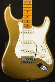 Fender Custom Shop Time Machine 1957 Relic Strat HLE Gold
