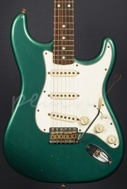 Fender Custom Shop 60's Duo Tone Relic Strat Sherwood Green