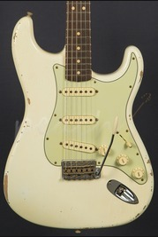 Fender Custom Shop Limited Edition '64 Relic - Aged Olympic White