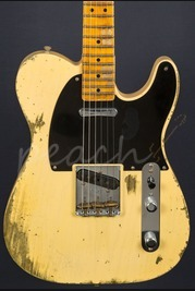 Fender Custom Shop '51 Heavy Relic Telecaster Faded Nocaster Blonde