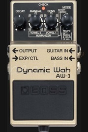 Boss Dynamic Wah Pedal AW-3
