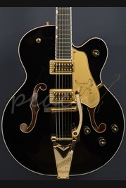 Gretsch G6136T-BLK Player's Edition Falcon with String-Thru Bigsby