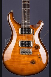 PRS Custom 24 Amber Black 10 Top 2011 - Used