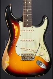 Fender Custom Shop '60 Strat Relic Sunburst Used