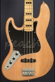 Squier Vintage Modified Jazz Bass 70's Natural Maple Neck Left Handed