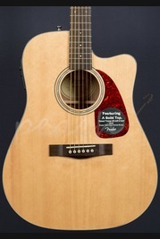 Fender CF-140SCE Folk Guitar Natural