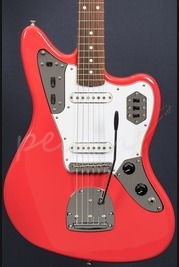 Fender 60s Jaguar Lacquer Rosewood Fingerboard Fiesta Red
