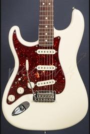 Fender American Standard Strat Left Handed Olympic White RW Used