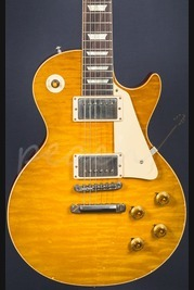Gibson Custom True Historic 1960 Les Paul Reissue Aged Lembon Burst