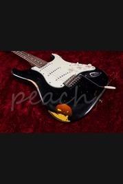 Xotic California Classic XSC-1 Black Over 3 Tone Sunburst Medium Aged