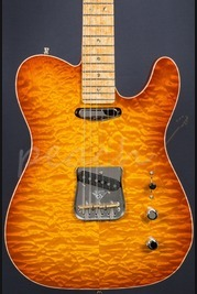 Fender Yuriy Shishkov Masterbuilt Custom Deluxe Tele - Tobacco Sunburst