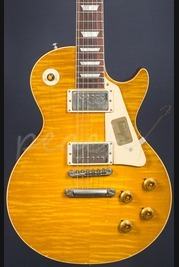 Gibson Custom True Historic 1960 Les Paul Reissue Aged Lemon Burst