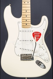 Fender American Special Strat Maple Neck Olympic White