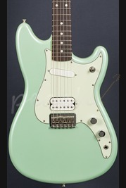Fender Duo-Sonic HS Rosewood Surf Green