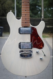 Ernie Ball Music Man Valentine Guitar Trans Buttermilk