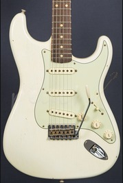 Fender Custom Shop 59 Special Journeyman Strat Aged Olympic White