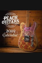 Peach Guitars 2019 Calendar