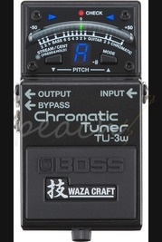Boss TU-3w Chromatic Tuner Waza Craft