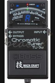 Boss TU-3w Chromatic Tuner Waza Craft
