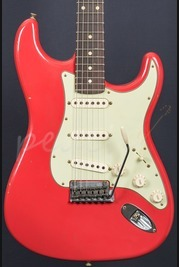 Fender Custom Shop 59 Journeyman Anniversary Strat Fiesta Red