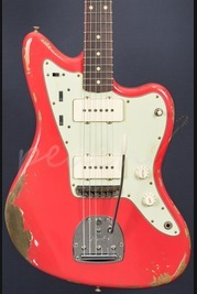 Fender Custom Shop 59 Jazzmaster Heavy Relic Fiesta Red