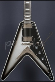Epiphone Brent Hinds Limited Edition Flying V Custom Silverburst