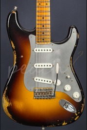 Fender Custom Shop Ltd El Diablo Strat Wide Fade 2 Colour Sunburst