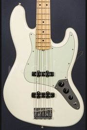 Fender American Pro Jazz Bass Olympic White Maple Neck
