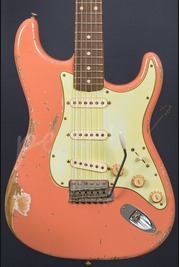 Fender Custom Shop Jason Smith 59 Relic Strat Coral Pink Used