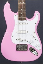 Squier Mini Strat Pink
